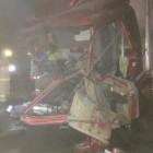 Появились ужасающие фото с места ДТП, в котором погибли шесть человек
