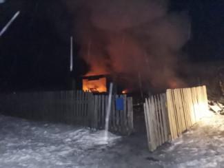 Под Пензой женщина надышалась угарным газом в ходе пожара и скончалась
