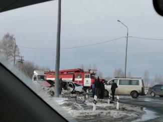 В Пензенской области в страшной аварии погибла женщина