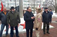 Валерий Лидин отметил нагрудными знаками пензенских юнармейцев
