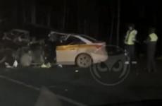 На трассе в Пензенской области две машины превратились в железное месиво