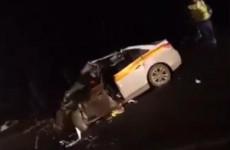 Появилось видео с места жуткого ДТП на трассе в Пензенской области