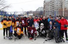 В Ленинском районе Пензы выявили лучшую хоккейную команду