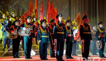 Защитникам отечества подарили яркий концерт (+50 фото и видео)