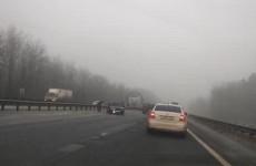 «В ДТП более 6 машин». Пензенцы сообщают о массовой аварии на трассе М-5