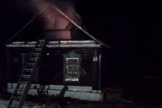В страшном пожаре в Пензенской области погиб пожилой мужчина