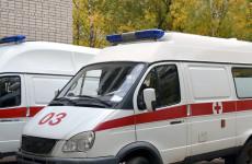 В Пензенской области 19-летнего парня увезли в больницу после жесткой аварии