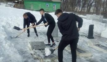 В Железнодорожном районе Пензы привели в порядок воинские захоронения