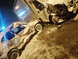 В Пензенской области «Калина» столкнулась с грузовиком, есть погибший
