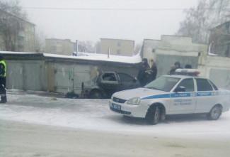 «Очень страшно». Житель Пензенской области погиб в горящей машине