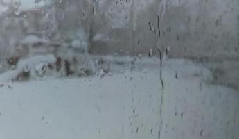 Среда встретит пензенцев снегом и гололедицей