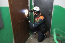 В Пензе в «квартирную ловушку» попал двухлетний малыш