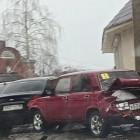 В Пензе пьяный водитель устроил серьезную аварию и уехал