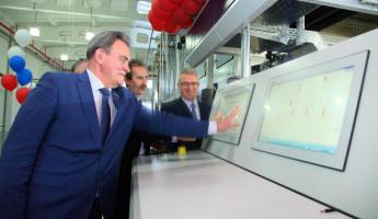 Валерий Лидин принял участие в запуске нового оборудования компании «Маяк»