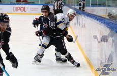 В пятом матче пензенский «Дизель» всухую проиграл тюменскому «Рубину»
