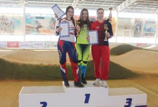 Пензячка победила на всероссийских соревнованиях по велоспорту-BMX
