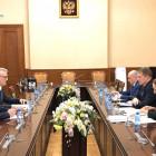 Глава Пензенской области встретился с министром здравоохранения РФ