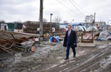 Вице-мэр Пензы проверил ход реконструкции Бакунинского моста