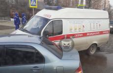 В Пензе произошло ДТП с участием «скорой»