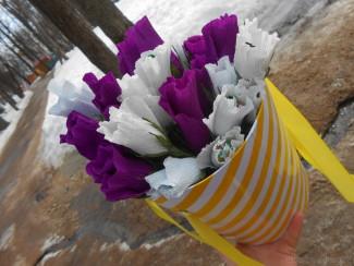 Пензенцы с размахом отметили Международный женский день в парке Белинского