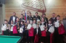 Юные пензенцы достойно выступили на всероссийском турнире по бильярдному спорту