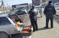 В Пензе устроили облаву на уличных торговцев