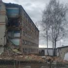В Пензенской области обрушилась стена многоэтажного дома