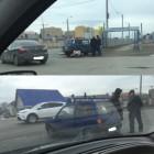 В Пензе «Оку» развернуло на дороге в результате жесткого ДТП