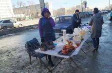 В Октябрьском районе Пензы устроили облаву на уличных торговцев