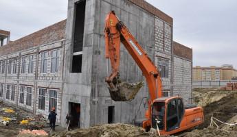 Вице-мэр Пензы оценил ход строительства школы в Эко-квартале