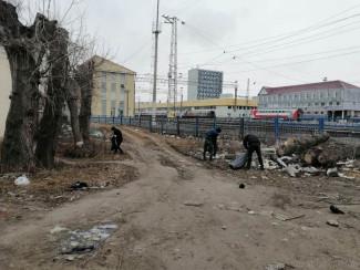 В Пензе ликвидировали несанкционированные навалы мусора