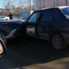 На улице Луговой в Пензе жестко столкнулись две машины