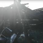 Появилось видео с места пожара с семью погибшими в Пензенской области