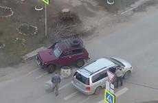 На улице Львовской в Пензе столкнулись две машины