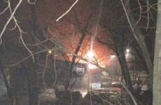 Пензенцы сообщают о ночном пожаре в районе КПД