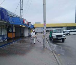 В Пензе началась дезинфекция общественных мест