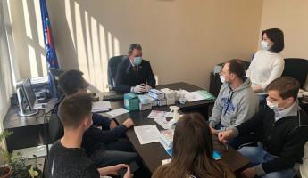 Валерий Лидин поблагодарил за работу пензенских волонтеров