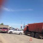 В Пензе столкнулись машина ДПС и легковушка