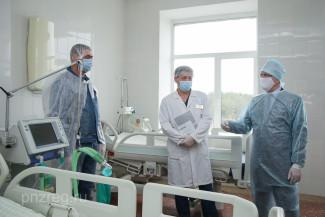 Строительная компания купила аппарат ИВЛ для пензенской больницы