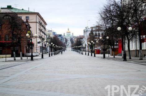 Коронавирус в Пензе: что происходит на улицах города после недели самоизоляции