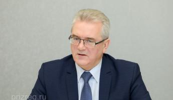 Пензенский губернатор показал продуктовый набор для малоимущих семей