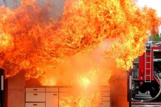 В одной из пензенских квартир случился серьезный пожар