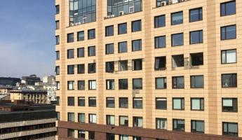 В здании московского бизнес-центра прогремел взрыв