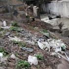 Устье реки Кашаевка в Пензе завалили мусором