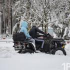Апрельская буря в Заречном. Аномальный снегопад парализовал закрытый город (ФОТО)