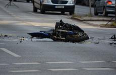 В Пензе случилась серьезная авария с участием мотоциклиста