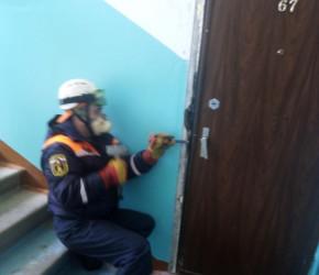 В Пензе 80-летняя старушка стала заложницей своей квартиры
