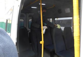 В Пензе в усиленном режиме дезинфицируют общественный транспорт