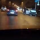 Возле пензенской гостиницы произошло жесткое ДТП с участием такси
