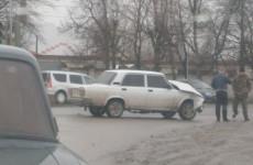 В жестком ДТП в Пензенской области изуродовало «семерку»